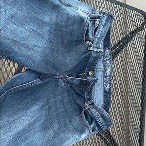 """Express """"barley boot""""  jeans size 10 short"""